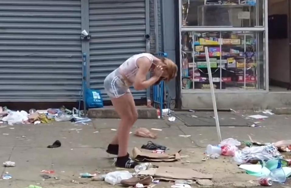 filadelfia zombie ulice